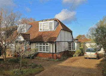 Thumbnail 4 bed detached house for sale in Manor Road, Ripley, Woking