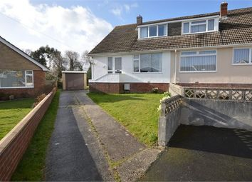Thumbnail 3 bedroom semi-detached bungalow for sale in Norman Close, Highweek, Newton Abbot, Devon.
