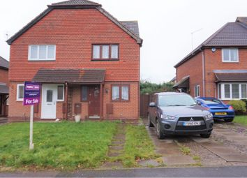 Thumbnail 2 bed semi-detached house for sale in Evans Road, Nottingham