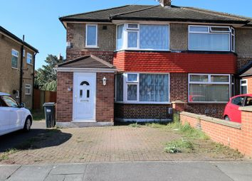 Thumbnail 2 bed semi-detached house to rent in West Road, Feltham, Middlesex