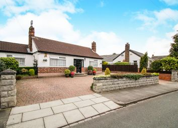 Thumbnail 4 bed detached bungalow for sale in Mill Road, Higher Bebington, Wirral