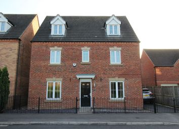 Thumbnail 5 bed detached house for sale in Denbigh Avenue, Worksop
