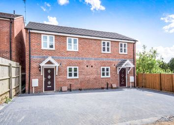 Thumbnail 2 bed semi-detached house for sale in Chapel Street, Oadby, Leicester