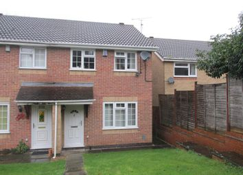 Thumbnail Semi-detached house to rent in Hernhill Court, West Hunsbury, Northampton