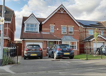 Thumbnail 4 bedroom detached house for sale in Hartsholme Park, Kingswood, Hull