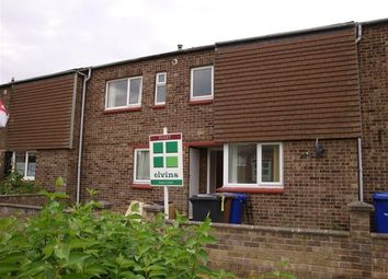 Thumbnail 3 bed terraced house to rent in Downing Close, Mildenhall, Bury St. Edmunds