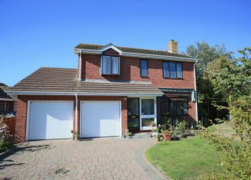 Thumbnail 4 bed detached house for sale in Delderfield Gardens, Exmouth