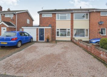 Thumbnail 3 bed semi-detached house for sale in Woodmans Way, Shepshed, Loughborough