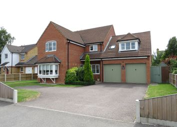 Thumbnail 6 bed detached house for sale in Stone Road, Toftwood, Dereham