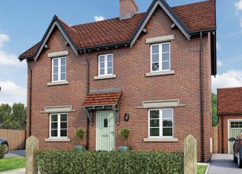Thumbnail 3 bedroom detached house for sale in The Belper, Moira, Leicestershire