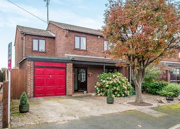 Thumbnail 4 bedroom detached house for sale in Knights Close, Leverington, Wisbech