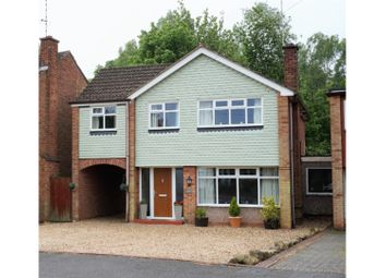 Thumbnail 4 bed detached house for sale in Lubbesthorpe Road, Leicester
