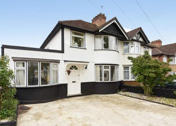 Thumbnail 4 bed semi-detached house to rent in Windsor Road, Harrow
