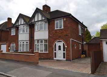 Thumbnail 3 bed semi-detached house for sale in Barbara Avenue, Humberstone, Leicester