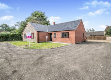Thumbnail 3 bed detached bungalow for sale in Low Road, Repps With Bastwick, Great Yarmouth