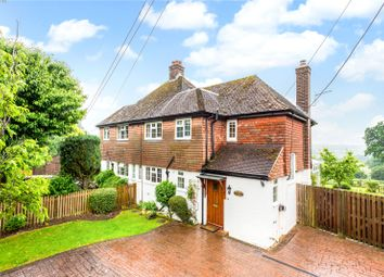 Thumbnail 3 bed semi-detached house for sale in Coopers Hill Road, South Nutfield, Surrey