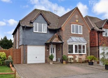 Thumbnail 4 bed detached house for sale in Chatsworth Drive, Rustington, West Sussex
