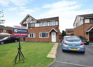 Thumbnail 3 bedroom semi-detached house for sale in Dovedale Close, Ingol, Preston, Lancashire