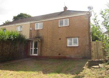 Thumbnail 3 bed semi-detached house for sale in Cilgerran Place, Winch Wen, Swansea.