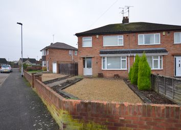 Thumbnail 3 bed semi-detached house for sale in Rayner Avenue, Stanground, Peterborough