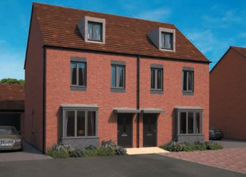 "Thumbnail 3 bedroom semi-detached house for sale in ""Kennett"" at Lawley Drive, Telford"