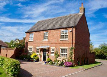 Thumbnail 4 bed detached house for sale in Woods End, Dunholme