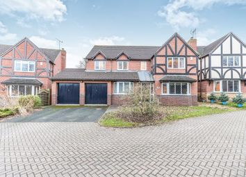 Thumbnail 5 bed detached house for sale in Dunmow Avenue, Worcester