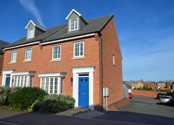 Thumbnail 3 bed semi-detached house for sale in Snellsdale Road, Coton Park, Rugby
