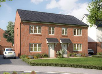"Thumbnail 3 bed semi-detached house for sale in ""The Hazel"" at Canon Ward Way, Haslington, Crewe"