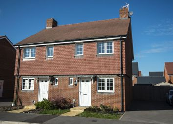 Thumbnail 2 bed semi-detached house for sale in Tabby Drive, Three Mile Cross, Reading
