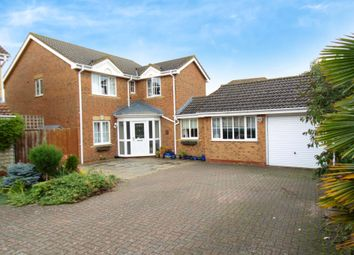 Thumbnail 4 bed detached house for sale in Poppy Field, Biggleswade