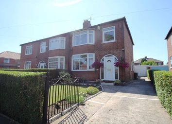 Thumbnail 3 bed semi-detached house for sale in Brooklyn Avenue, Flixton, Urmston, Manchester