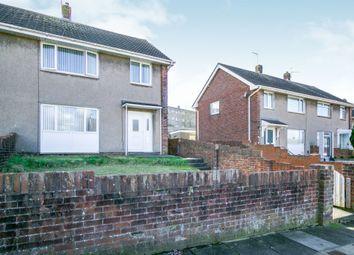 Thumbnail 3 bed semi-detached house for sale in Ffordd Yr Eglwys, North Cornelly, Bridgend