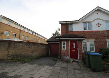 Thumbnail 3 bed end terrace house for sale in Lakeside Avenue, London