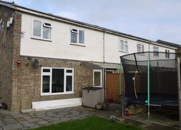 Thumbnail 3 bedroom end terrace house for sale in Viscount Court, Eaton Socon, St. Neots, Cambridgeshire