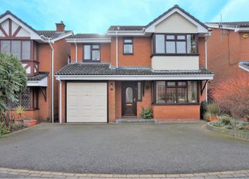 Thumbnail 4 bed detached house for sale in Sedgemere Grove, Walsall