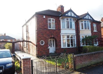Thumbnail 3 bed semi-detached house for sale in Boundary Road, Newark