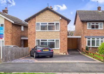 Thumbnail 3 bed detached house for sale in Cordwell Close, Castle Donington, Derby