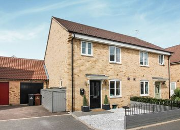 Thumbnail 3 bedroom semi-detached house for sale in Fowler Road, Colchester