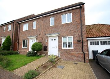 Thumbnail 3 bed semi-detached house to rent in Samuel Courtauld Avenue, Braintree