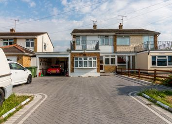 Thumbnail 3 bed semi-detached house for sale in London Road, Bowers Gifford, Basildon