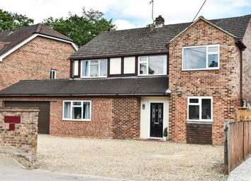 Thumbnail 4 bed detached house for sale in Sandhurst Road, Yateley, Hampshire