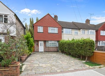Thumbnail 3 bedroom end terrace house for sale in Caverleigh Way, Worcester Park