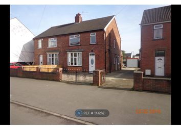 Thumbnail 3 bed semi-detached house to rent in Cemetery Road, Scunthorpe