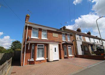 Thumbnail 3 bedroom semi-detached house for sale in Osborne Road, Willesborough, Ashford
