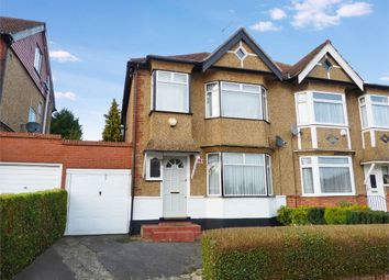 Thumbnail 3 bed semi-detached house for sale in Lyndhurst Avenue, Pinner, Middlesex