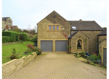 Thumbnail 4 bed detached house for sale in Stones Drive, Ripponden