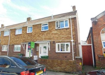 Thumbnail 3 bedroom end terrace house for sale in Brookfield Road, Portsmouth