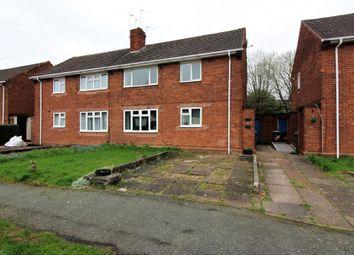 Thumbnail 1 bedroom flat for sale in Merrick Road, Wolverhampton