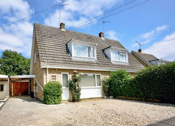 Thumbnail 3 bed semi-detached house for sale in Manor Drive, Sawtry, Huntingdon